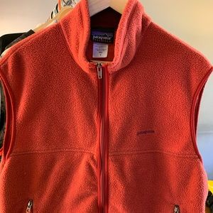 Vintage Patagonia Full Zip Fleece Vest